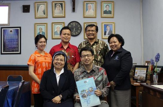 Penandatanganan Kerjasama untuk program Preparation Bahasa Mandarin dan HSK Test Center