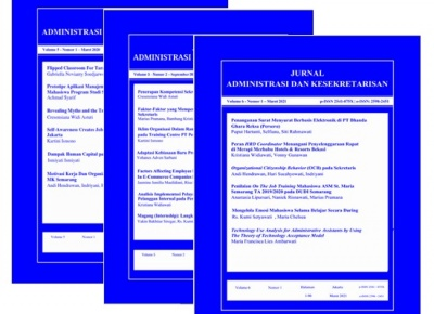 Jurnal Administrasi dan Kesekretarisan (JAK)
